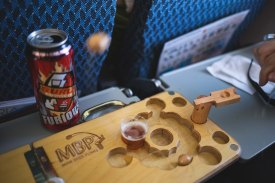 Playing on plane with Surly Furious